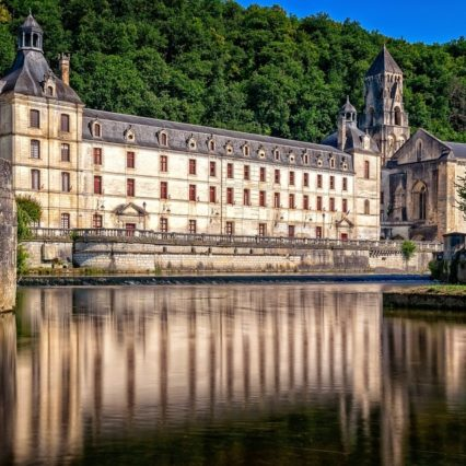 Brantôme Monastery Abbey France